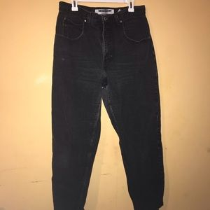 Anchor blue baggy jeans